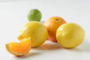 Bild mit säurehaltigen Lebensmitteln