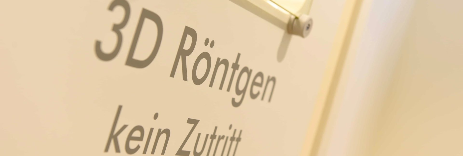3D DVT Diagnostik Zahnarztpraxis in München